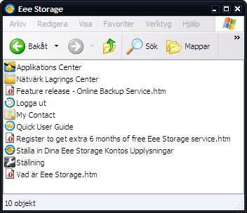 Eee Storage mapp