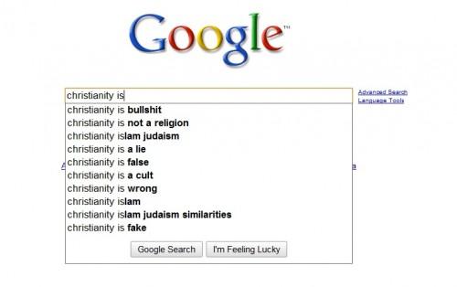 Christianity is bullshit