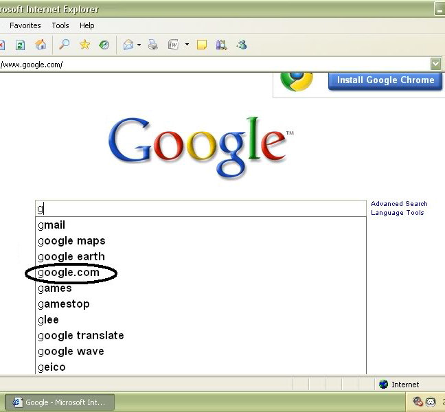 Google fail 1
