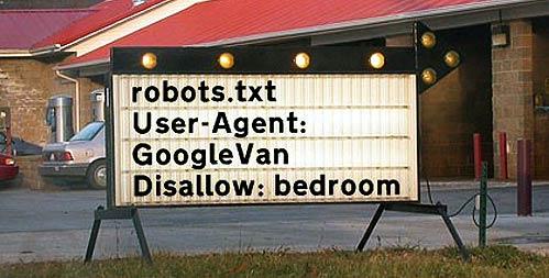 Robots.txt google-bilen